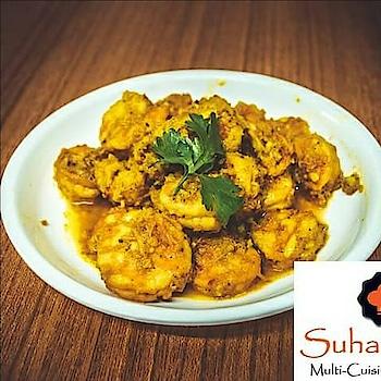 Prawn Masala Suhana Star For Home Delivery Order via Delfoo-8000226666 or click https://goo.gl/0eWTMM OR Jungoo https://goo.gl/Tm8cli OR Deliverydon-7202843333, 7202873333 or click https://goo.gl/vRPKTQ For Pick-Up Call 9484993377/9484993388 #Homedelivery #Vadodara #malvan #foodie #Fingerlickinggood #EatFresh #Restaurant #foodporn #cooking #nomnom #yummy #instafood #recipes #delicious #seafood