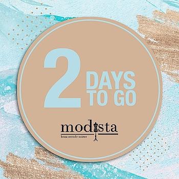 2 DAYS TO GO!! Get ready to SHOP at @modistadxb on Saturday 18th January, @shangrila_dubai from 10am - 8pm. . . #Modista #Modistadxb #mayyurgirotra #mayyurgirotraluxurypret #mgbride #mayyurgirotrabride #luxuryfashion #luxurypret #womensfashion #handembroidery #occasionwear #ootn #ootdfashion #patola #indianattire