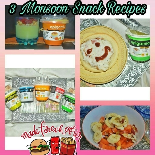 Do you love snacking as much as I do ? If yes then now snacking can be healthy too ! Read my blogpost about 3 snacking recipes I made using Epigamia yogurt. Yummy link https://fianafashionforward.wordpress.com/2017/08/11/healthy-monsoon-snacks-with-epigamia-yogurt-part-2/ 😋 #food #love #foodiesofinstagram #instagood #instadaily #omnomadventures #yogurt #mumbaifood #mumbaifoodlovers #foodofmumbai #instamumbai #yogurt #foodbloggersmumbai #munchymumbai #instafoodie #loveforfood #foodgasm #foodstagram #mumbaigram #mumbaiigers #picoftheday #like4like #likesforlikes  #desi #mumbaikar #indianfood #foodaholic #foodblogger #indianblogger #madeforeachother