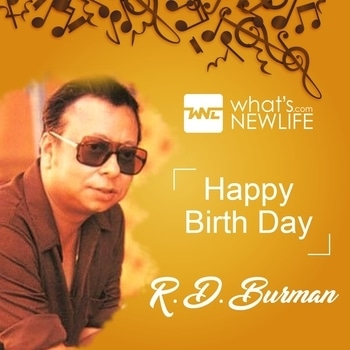 Today the famous music director RD Burman's birthday. He was an Indian film score composer, who is measured one of the determining directors of the Indian film industry.  What's New Life wishes the music legend RD Burman's on his 78th Birthday Anniversary. #celebritybirthday  #rdburman  #musicdirector  #composer  #birthdaywishes  #birthdaycelebrations  #wishes
