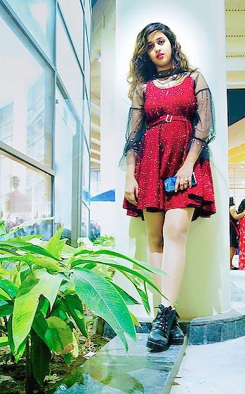 Be bold, strong, beautiful and powerful. #fashionbloggerstyle #fashionbloggerkolkata