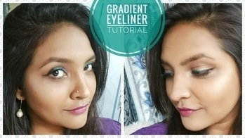 Heyyy peeps...this new video is up on my channel.....plz go and check it out.... I have created a gradient eyeliner look which is super simple and looks amazinggg.... Link to my video: https://youtu.be/aKhHUDSxC34  Go right away and see it and sont forget to SUBSCRIBE!!!!  #coloredeyeliner  #maybellinelastingdrama  #silkenturquoise #makeuponpoint ​ #easylook #popofcolour  #makeuptutorial #turquoiseliner #youtubeindia #maybellinenewyork