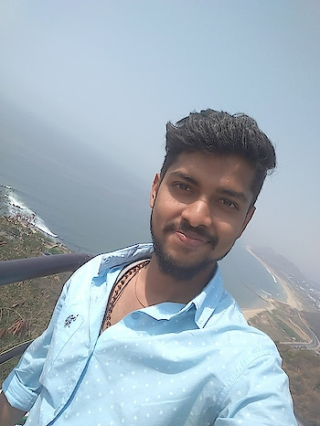 #Lovevizag #sea #kailashagiri #selfiemoment😘😎......