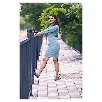 Casual outing wear with horizontal stripe of Bodycon style. Wear it with heels or Sandals, sneakers, shoes, or other accessories like leather sling bag or belts. You may walk around with funky look with cap.  #soroposogirl  #instafashion  #monsoonfashion  #monsoondiaries  #roposogram  #roposofam  #followers  #trendingfashion  #trendsetter  #fashionaccessories  #ropo-style  #bodycondress  #dress  #picofthedaystyle  #capturedmoments  #bloggersofindia #deekyoutfit  #mumbaiblogger  #bazaar  #staytuned  #keepfollowing  #heart  #thankyousomuch