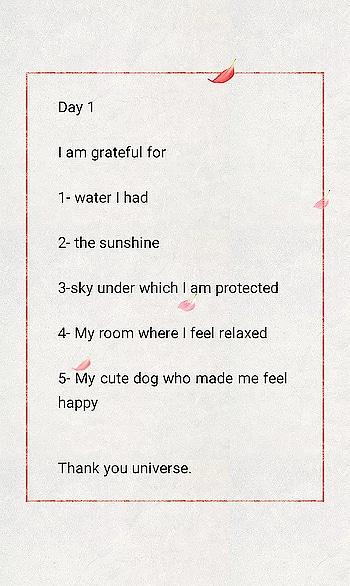 #Day1 #gratitude