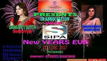 New Years Eve  Fashion  Show 31st  Nite  @Calcutta Customs Club #ShowStopper #BrandModel #SIPA