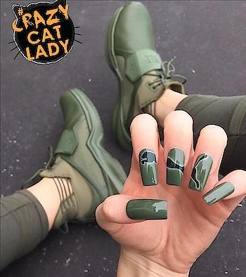 #puma  #puma-love #pumaindia  #shoes  #green  #girlystuff #avengers #girlonfire #newlook #nail-addict #nailartist #self-love #crazzyness #crazycatlady