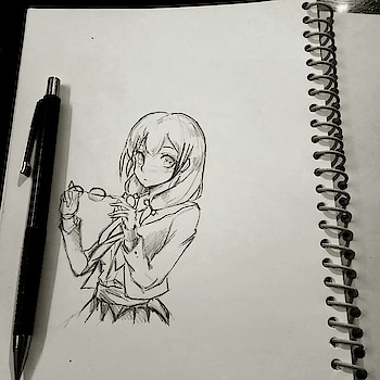 🖊🖊 . Follow for more . My first exam(English) went good ,yayyyyy😁😁😂 . . .  #artofig #artofinsta #instaanime #youngartist #animeart #artfedo #artfeature #artistsofinstagram #artshelp #artdaily #instapost #instagood #love #beautiful #artpost #young_artists_help #artistsoninstagram #arthomepage #characterdesign #anime #manga #kawaii #cute #pen #sketch #draw #drew #drawing #animebreath