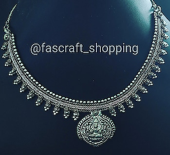 Get this Navratri Puja perfect oxidized jewelry at sale prices. DM for prices or visit www.fascraft.com  ____________***_____________ Follow @fascraft_shopping  Follow @fascraft_shopping  Product Id :- FCN020826 #fascraft #fascraftjewellery #fascraftjewels #FasCraftFestival #oxidizednecklace #oxidisedjewellery #oxidised #necklaces #jewellers #tradition #traditional #traditionaljewellery #festivales