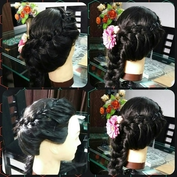 hairstyle made by my students