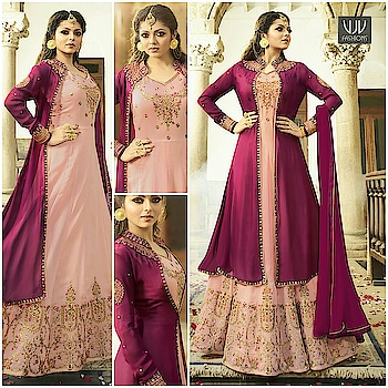 Buy Now @ https://goo.gl/skFf2z  Drashti Dhami Peach And Magenta Color Designer Anarkali Suit  Fabric- Georgette  Product No 👉 VJV-NYSS2303  @ www.vjvfashions.com  #dress #dresses #bollywoodfashion #celebrity #fashions #fashion #indianwedding #wedding #salwarsuit #salwarkameez #indian #ethnics #clothes #clothing #india #bride #beautiful #shopping #onlineshop #trends #cultures #bollywood #anarkali #anarkalisuit #beauty #shopaholic #instagood #pretty #vjvfashions