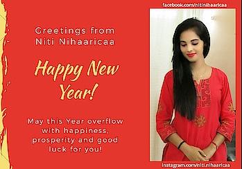 Happy New Year....  #happynewyear #newyear #happynewyear2019 #nitinihaaricaa