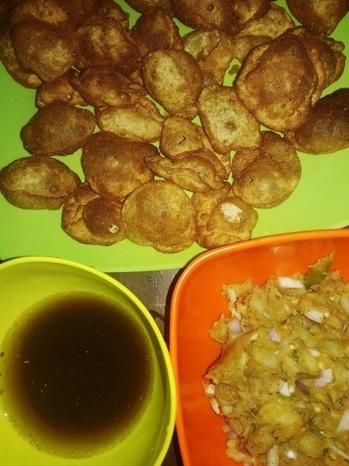 #pani puri #gupchup #puchka #l love pani puri #homemadeishappieness #mycookingstories #mycookingdiaries