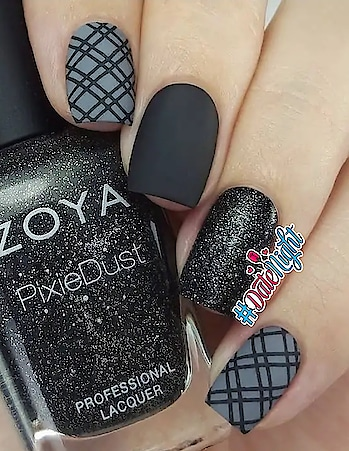 black can never go wrong...... #nailartwow #nailaddict #nailpaint #nails #black-edition #black-gray #black #be-fashionable #roposo-fashion #in fashion 💖 #lovely... ☺😊😉 #roposo-fashiondiaries #roposo-style #nailcolor #nailartholic #ropo-style #fashion-style #styles #modern womaniya #datenight