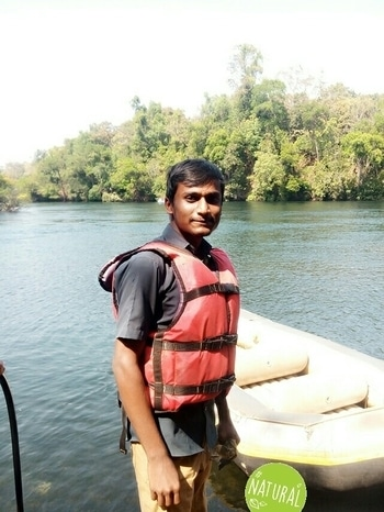 at danedeli first experience  of rafting on kali river #natural