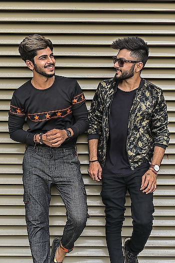 I call it : THE FASHION FRIENDSHIP ! . . SHOT BY - @thedaydreamstudio . . #tsdstyle  #TSDFAM  #thestyledweller  #tsdonexplore  #fashioninfluencer  #fashionblogger  #blogger  #menshair  #mensfashioninfluencer  #hairflow #menswear  #hairstyle #trouser #black #grey #sweatshirt #friendship #styleinfluencer  #style #ootd #wiwt #fashion  #fashionfriendship #suratinfluencer  #suratfashionblogger  #indianfashioninfluencer  #indianblogger  #indianfashionblogger #surat #india