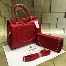 Prada bag in bag  A quality  Hand bag with clutch bag   ₹1250 /only  Shipping extra