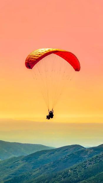 #sky #paragliding #high #beautiful #look #nature