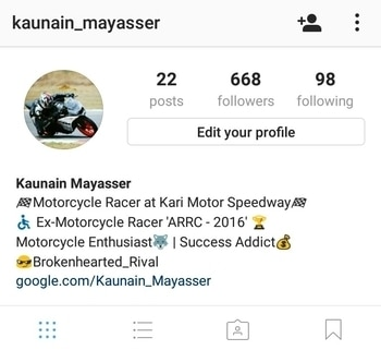 follow me on  Instagram | Facebook | Roposo  for more bike racing updates🏁😎 wandering 📷⛺ Biking updates & automotive🎥🚧🚵🚀🚴 and very unexpected posts can mesmerise you✌😝 very soon unleashing the new series of #PhycoRider❗ 🏁😎📹🎬  follow for more...🔜🙏