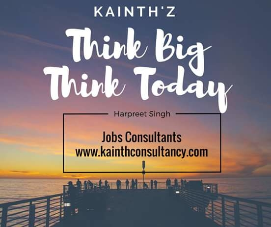 #Jobs #Salonjobs #Hairjobs #hairstylist #Makeup #skincare #beauticians #pedicurist  #Nailart #Frontdesk #Telecaller  Think Big and Think Today Have a Nice Day.   Kainth'z Salon Jobs  Clickhere:- http://kainthconsultancy.com/salon-jobs-in-north-india/