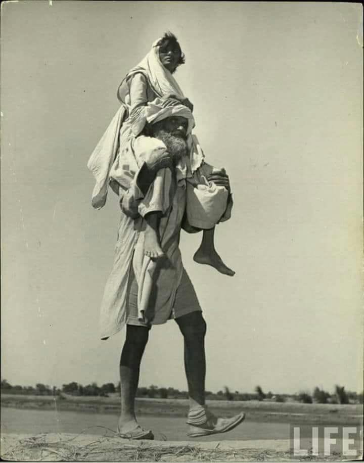 india or pakistan vibhajan k bad ki kuch tasvire