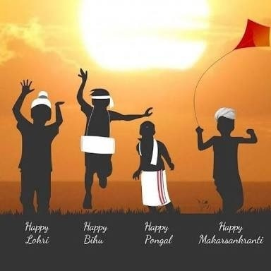 Unity in diversity .same festival with different names different culture different ways of celebration . Though we are united ☺☺ . #unity  #diversity #lohri #bihu #pongal #makarsankranti #festival #festivefever #festivemood #makarsakranti #lohri2018 #pongal2018 #makar sankranti #happymakarskanranti