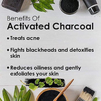 Here are some purifying benefits of activated charcoal. #Skincare #charcoal  #poweringredients #skin  #benefit  #beautycare