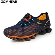 GOMNEAR Men's Personality Running Shoes Outdoor Athletic Breathable Antiskid Tourism Trekking Shoes Man Cozy jogging Sport Shoes  Only In 2200 Rs..