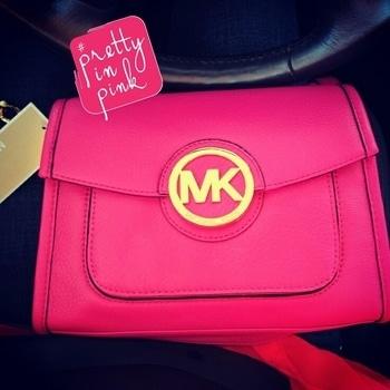 MK Pink Purse #girlystuff #pinklove #fashionicon #prettyinpink #pink