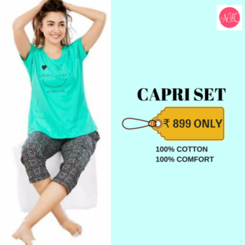 Hey young girls! How about having comfortable Capri sets as your nightwear option?  Shop this Capri set to feel comfortable both during the days and nights.  Shop here: http://bit.ly/2DmeWEc Available in 2 Colors. Shop Now! . . .  #nightwear #nightwearfashion #nightwearforwomen #featuredpost  #womennightwear  #shopnow  #pajamaset  #capris  #fashion  #fashionablepajamas  #comfort #comfortwear #comfortfashion  #comfortable  #nightclothing  #rightclothes #trendsetter  #nightyhouse
