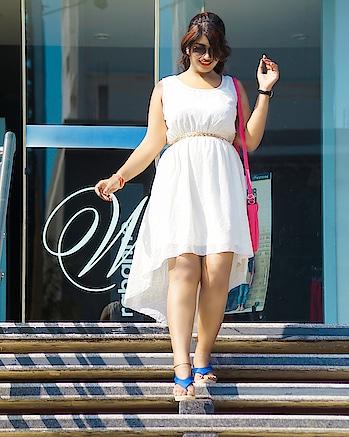 summer k liye perfect dress ! #fashionblogger #fashionquotient #fashionaddict