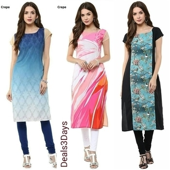 !!!! Digital Print Kurti !!!!  Size:: M, L n xl  Fabric:: American Crepe  Price:: Rs.599+$hipping free   aas