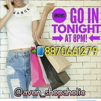#whatsapp 8870661279  or dm to place orders. 🎁Today gonna place order for AVON* If yu have any order lemme knw bfr 8.00 pm today!! ✔above Rs. 500 shipping FREE. ✔Below Rs. 500 shipping Rs. 50 ✔Shipping all over india .#myavonnoticeboard  #avonindia #avon #avonproducts #avoncosmetics #fashion #trend #instashopping #instabeauty #instafashion #shopping #clearancesale #avonoffers #offers #avonstock #shopaholic #cosmetics #skincare #beauty #avonshopaholic #avon_shopaholic #perfume #avonflyer #avonskincare #avononline #onlineshopping #avonlady #bosslife #beautyforapurpose