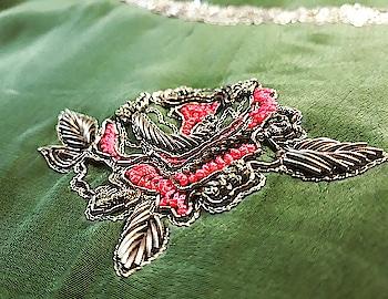 It's all in the details !  Beautiful details make a beautiful outfit.  #roposofashion #roposo #roposolove  . . . . . #bhavnachhabria #label #couture #madetoorder #madewithlove #lovewhatido #instagood #instafashion #instabride #festive #weddingseason #creativebiz #creativepreneur #mood #fashiondiaries #bengalurudiaries #designerdiaries #handmade #handcrafted #indiancraft #slowfashion #celebstyle #motif #frenchknots #zardosi #indianwedding
