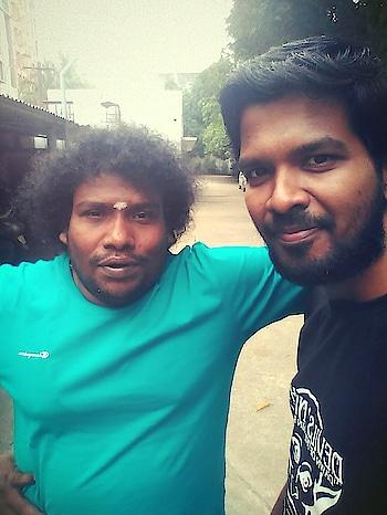 With Annan #yogibabu #kollywoodactor #comedian