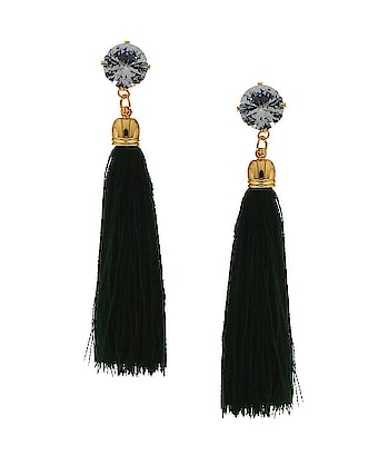This festive fashion season Anuradha Art Jewellery offers range of fashionable thread earrings collection for modern women. These earrings will look outstanding with western apparel. So see more designs visit our website : anuradhaartjewellery.com  or WhatsApp us on : + 91 8888893938   #threadearrings #tasselearrings  #fashionearrings  #silkthreadearrings #handmadearrings #westernearings  #earringsforwomen  #instajwellery  #instaeareing  #instafashion #roposo-fashiondiaries #roposo-style