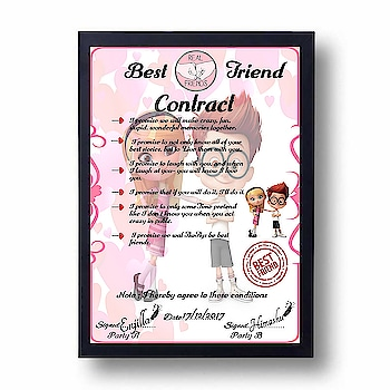 FRIENDSHIP DAY SPECIAL😘🎁 ❣️ BEST FRIEND CONTRACT😍 Need Pics & NAME Soft  Copy and Hard Copy Both Available ❣️❣️❣️❣️ Direct Message For Order @photo_art_store @gifts_shopping_time  @gift_online_store  @personalized_magazine Special🎁🎁🎁🎁🎁😘 😍SPECIAL PERSON😍 Keep Ordering😍😍 Birthday Couple Friendship Family Anniversary 😍😍 😍 DM for Order . #surprises #specialgift #happybirthday #birthdaygift #birthdaygifts #customisedgifts #uniquegifts #giftsforher #giftsforhim #giftsforcouple #personalisedcards #greetingcards #mosaicstories #colorful#memories #moments #friends  #birthday #anniversary #weddings #gifts #customized #personalized  #photo_art_store #gifts_shopping_time  #gift_online_store  #personalized_magazine