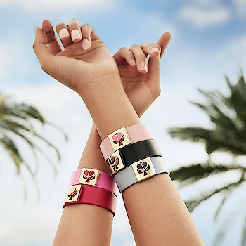 These customizable bracelets from @katespadeny have all the feels.  Each colour has a meaning Which one are you choosing?  #loveinspades #bracelet #bracelets #color #fashion #fashion #fashionable #fashionistas #fashionista #fashionaddict #fashiongram #fashiondesign #fashionpost #instagram #havishaaglobal #luxury #lifestyle #fashionstyle #style
