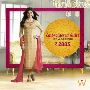 Eye soothing salwar suit for you to look divine at the next sangeet you attend from WedLista.com!  SHOP NOW: http://bit.ly/WL_SalwarSuits  #WedLista #FashionForWeddings #salwarsuit #designer-wear #desilook #weddingcollection #weddingwearonline #loveforethnic #ropo-love