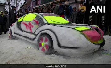 #snow#car  by kashmiri guy Adil