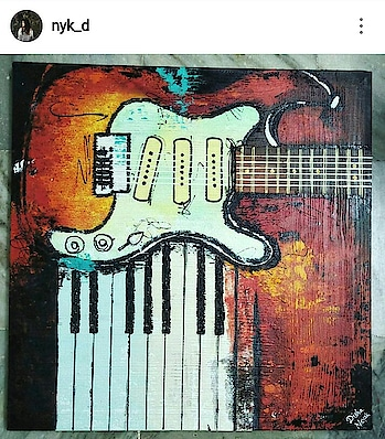 #painting   #myfirsttime  #abstractart  #guitar   🎸 #simplycooldesign    #abstract  #art   #abstracters #anonymous  #abstract_buff  #abstractart  #abstract  #creative   #artsy  #beauty   #photooftheday   #abstracto #stayawesome  #attractive   #roposo  #roposogal  #roposo-style  #roposogoal  #roposotalenthunt  #roposo-good  #roposoness  #creativespace #roposotalenthunt  #instagram   👉 @nyk_d  #painting   #myfirsttrek  #abstractart  #guitar   🎸 #simplycooldesign    #abstract  #art   #abstracters #anonymous  #abstract_buff  #abstractart  #abstract  #creative   #artsy   #beauty   #photooftheday   #abstracto #stayawesome   #attractive   #roposo  #roposogal  #roposo-style #roposogoal  #roposotalenthunt  #roposo-good  #roposo-style  #instagram   👉 @nyk_d