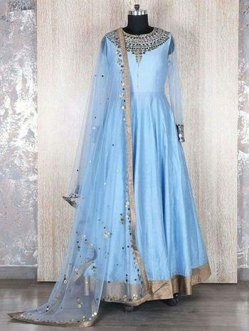 #cool blue dress#