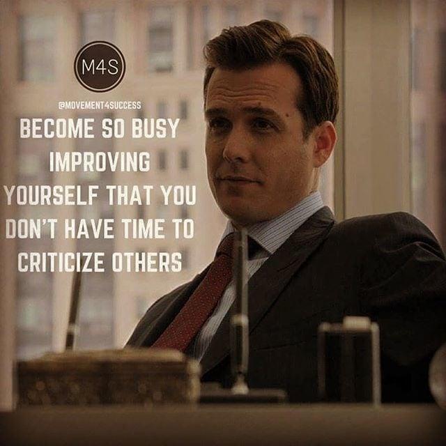 #suits #HarvySpector #dialouge #busy #criticize #people