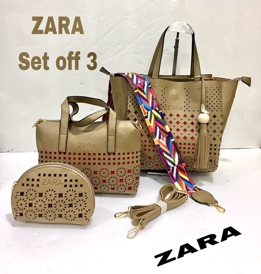 ZARA  3  pic Set Combo  Imp Bags Leather Look material  Good Quality  Size 12/10 Price - 1550  TO BUY SEND DM OR WATSAAP 9999142594  #roposo #zara #zarabag #combobags Chat with me on the #RoposoApp to buy this product! #roposo #thebazaar #roposochattobuy #fashion #shopping #shop #buy #seller #newarrival #onlineshopping #latesttrend #fashionpost #fashionlove #fashionoftheday #fashionlook #fashionlover  #trendy  #trendyfashion  #onlineboutique  #onlinestore  #onlineshop