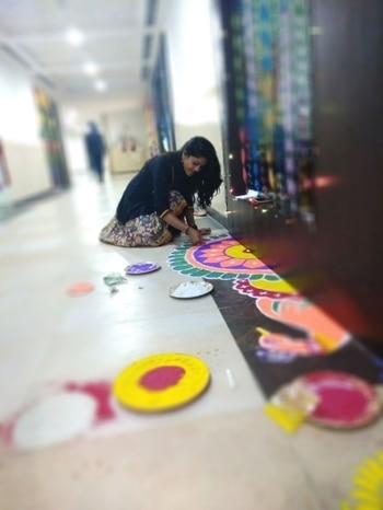 #RangoliIndia #MyDesign #CreativeRangoli