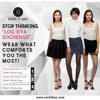 Rent It BAE offers a Range of #Comfortable #Shorts and #Skirts that are #Designed with an #Ambition to make you Live with Ease and Peace! Check out the #latest #range of #Contemporary #Women #Designerwear only at www.rentitbae.com  #fashion #westernwear #designerclothing #designerdresses #delhifashion #womenclothing #style #styleitup #womencouture #couture #latestfashion #latestdesigns #casualwear #partywear #rentdesigns #rentclothing #rentclothes #rentfashion #styleitup