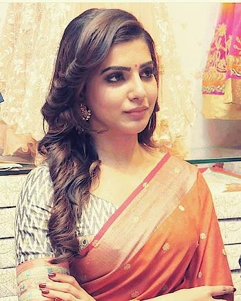 #samantha #chaisam #samantharuthprabhu #samanthaakkineni #sareelook #traditional #cute