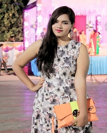 Sometimes going for a Different Kinda Match with all bright shades of colors. #fashion #style #beauty #makeup #ootd #tbt #throwback #party #colors ##glamlook #like4likes #glamour #dressy #florals #dressedup #instastyle #instafashion #instabeauty #fashionstory #fashionblogger #styleblogger #beautyblogger #beautyvlogger #youtuber #bloggersofahmedabad #ahmedabadblogger #indianblogger #shopaholicpals