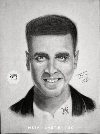 ~Akshay Kumar~ Made by me! ✌ How is it..? pls share and tag your friends who is a die hard fan of Akshay.😄 #pencil #pencils #worldofpencils #sketch #sketchbook #artoftheday #picoftheday #sketchoftheday #akshaykumar #akshaykumarfans #celebrity #bollywoodcelebs #bollywood #artgram #realism #realisticdrawing #artgallery #followme