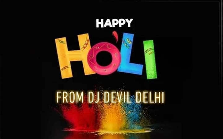 Happy Holi To all   #2019 #holiwishestoall #happyholi #International #tour #Dubai 🇦🇪 #UAE #InternationalDj #Dj #Producer #musicproducer #dj #djlife #likefourlikes